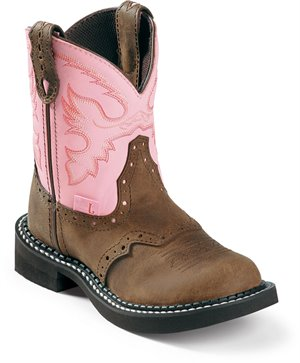 Light Brown Justin Boot Nuri