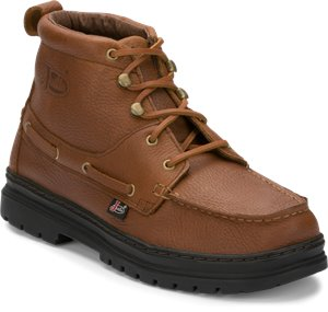 Light Brown Justin Boot Chip
