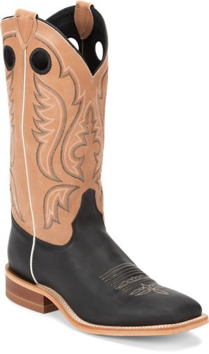 Black Justin Boot Stillwater