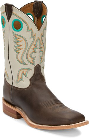 Medium Brown Justin Boot Austin