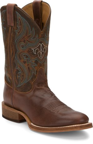 Distressed Brown Justin Boot Lahoma