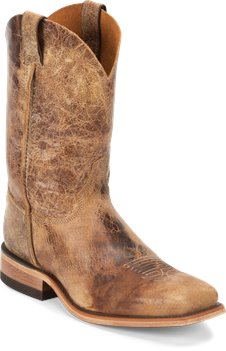 Distressed Brown Justin Boot Seguin