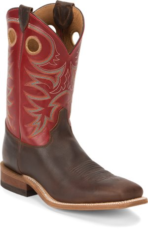Red Justin Boot Austin