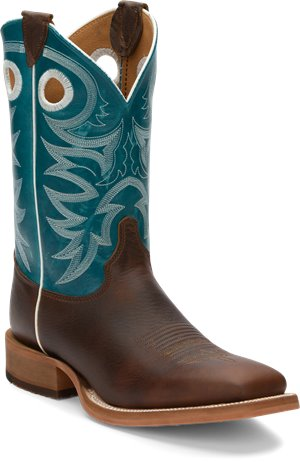 Blue Justin Boot Caddo