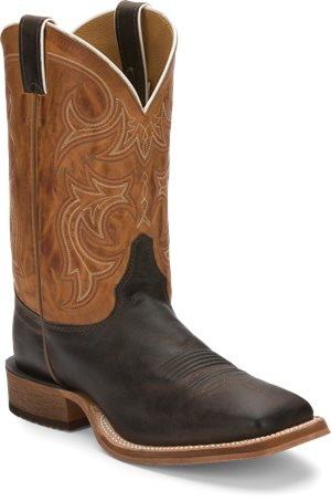 Dark Brown Justin Boot Caddo