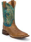 Justin Boot Caddo in Tan