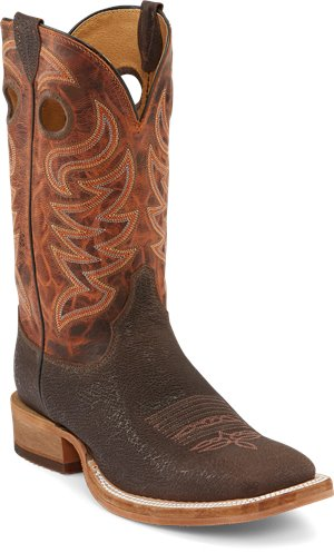 Brown Justin Boot Caddo