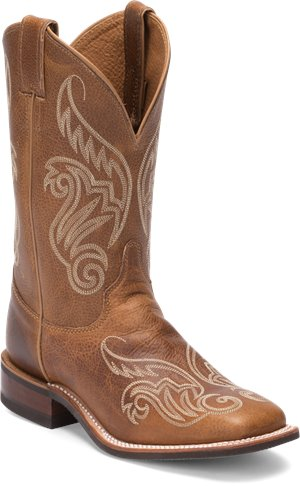 Light Brown Justin Boot Llano