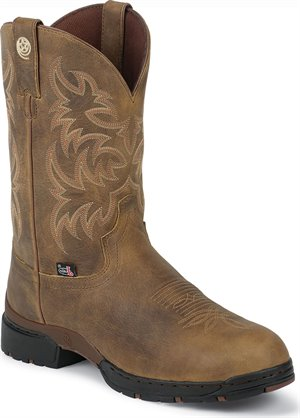 Light Brown Justin Boot UNWOUND