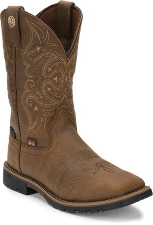 Golden Crazy Horse Justin Boot Adalida