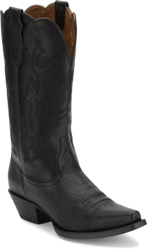 Black Justin Boot Tracy