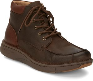 Brown Justin Boot Hitcher Dark