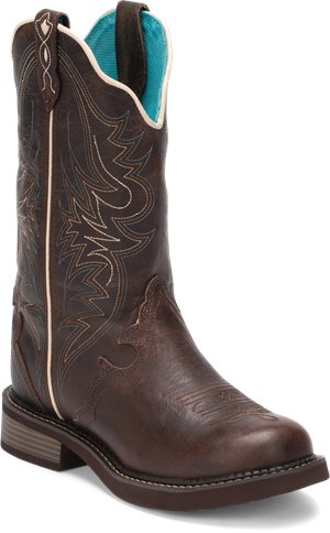 Brown Justin Boot Lily
