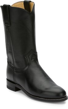 bd5a980aad2 Justin Boot Cora in Black - Justin Boot Womens Western on Shoeline.com