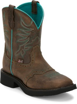 Chocolate Justin Boot Mandra Chocolate