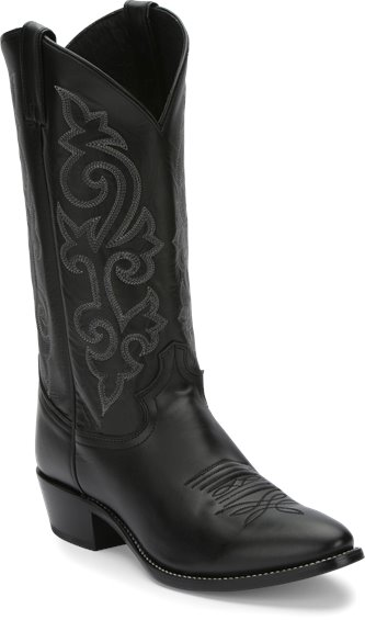 5a27594bed2 JUSTIN BOOTS #1409 BUCK BLACK
