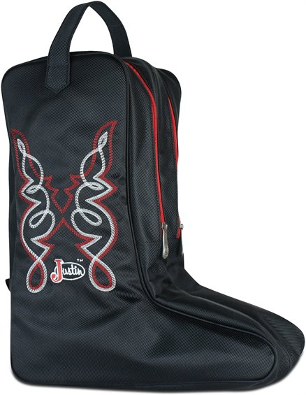 Image for JUSTIN BOOT BAG-BLACK ; Style# 1849547B