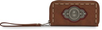Thumbnail image for JUSTIN LADIES WALLET-SIENNA  ; Style#  1861553W
