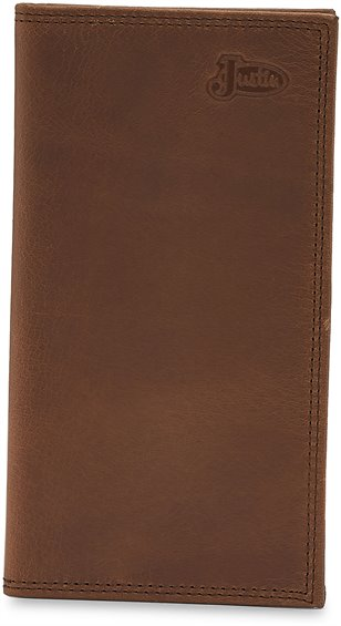 Image for JUSTIN MENS RODEO WALLET-BROWN ; Style# 1920566W3