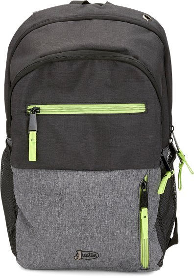 Image for JUSTIN COMMUTER BACKPACK-BLACK ; Style# 1953601BP