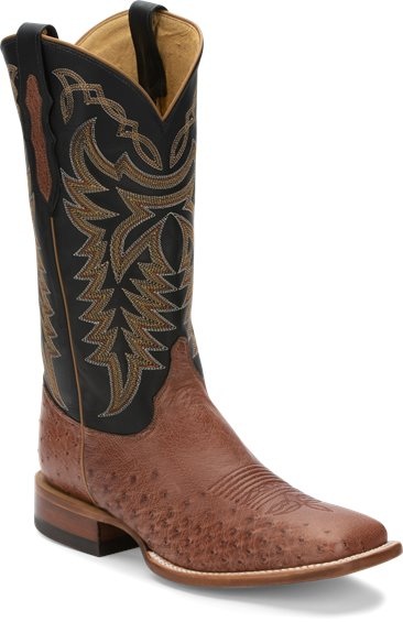 Image for PASCOE RUM BROWN SMOOTH OSTRICH boot; Style# 8295