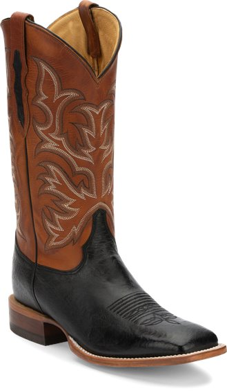 Image for PASCOE BLACK SMOOTH OSTRICH boot; Style# 8297