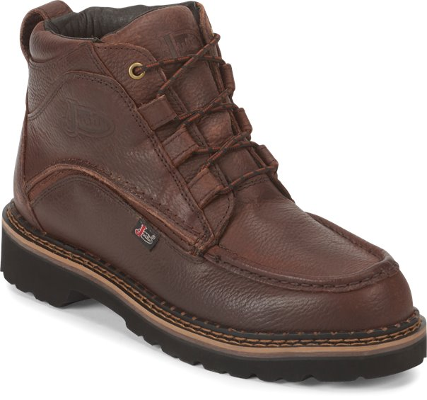 Justin Boots 989 Dugan Brown