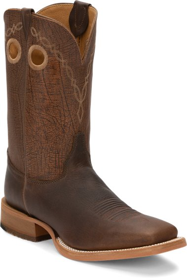 Justin Boots Br773 Caddo Grizzly Brown