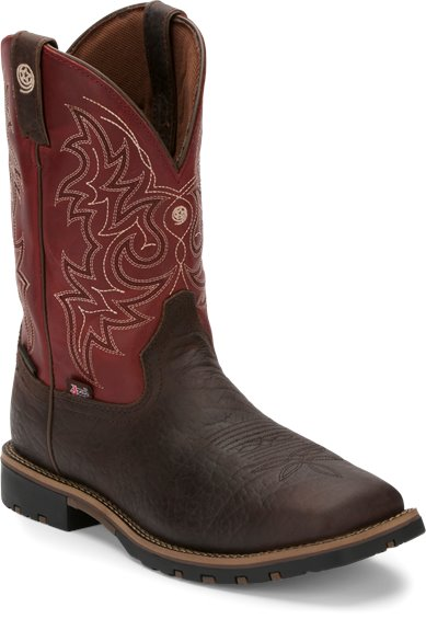 Justin Boots Gs9061 Fireman Red