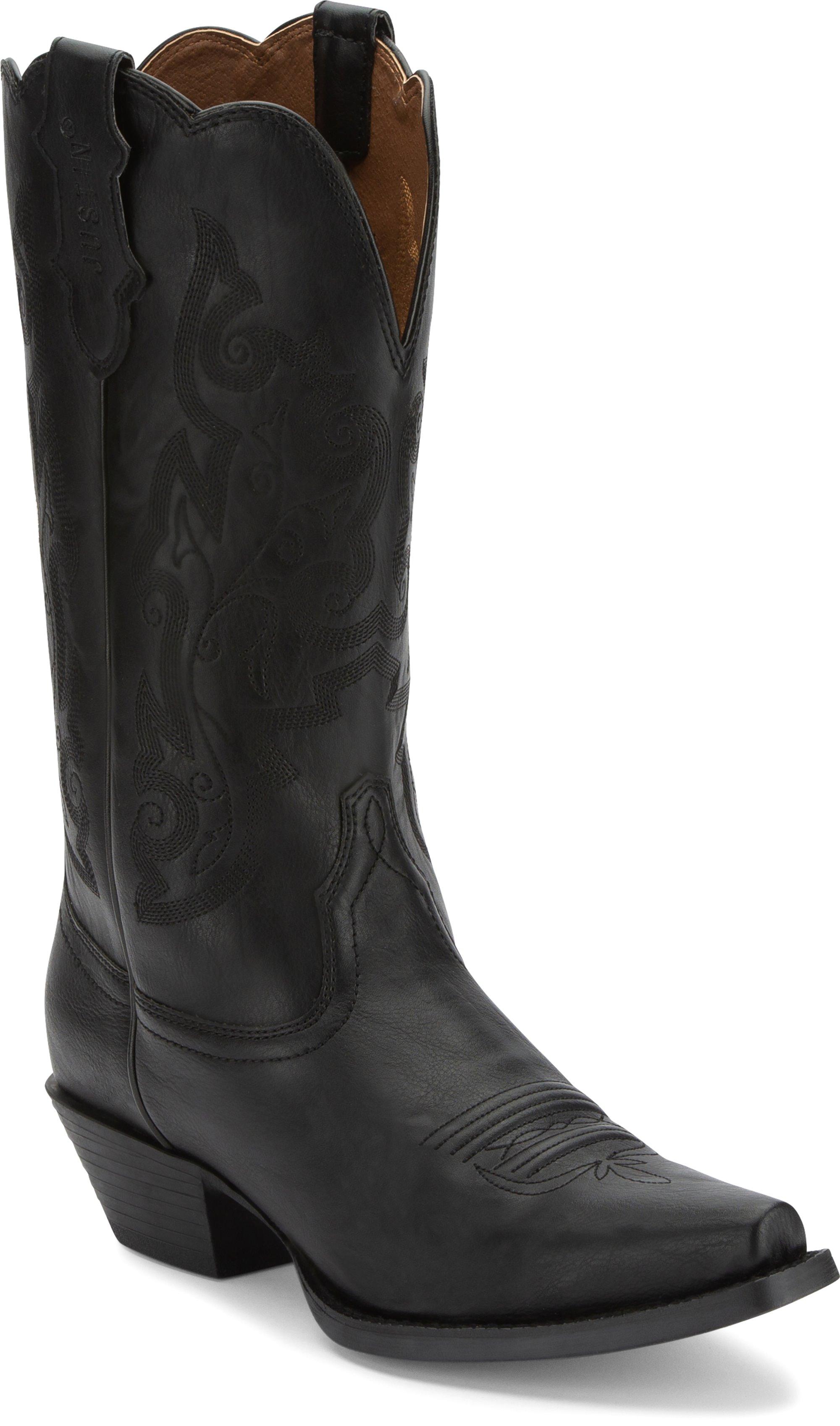 34bf6f91398 JUSTIN BOOTS #JBL1115 TRACY BLACK