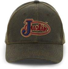 974a53403ac Image for JUSTIN CAP-BROWN   Style  JCBC004BR