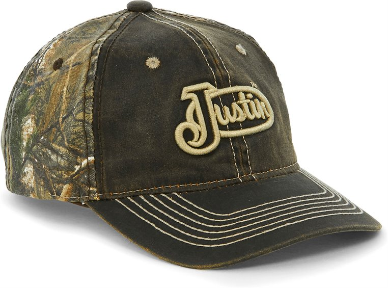 Image for JUSTIN CAP-BROWN CAMO ; Style# JCBC0242BR