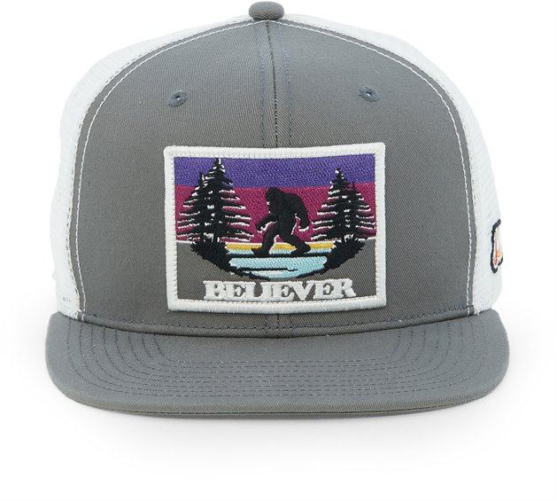 Image for JUSTIN CAP-GREY W/BIGFOOT PATCH ; Style# JCBC508G