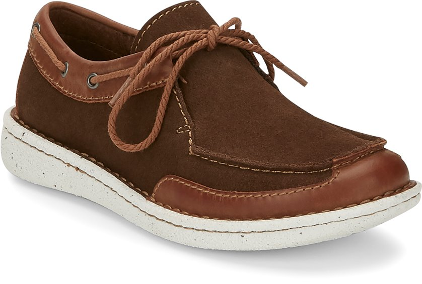 Image for BOATIE CHOCOLATE/TAN shoe; Style# JL102