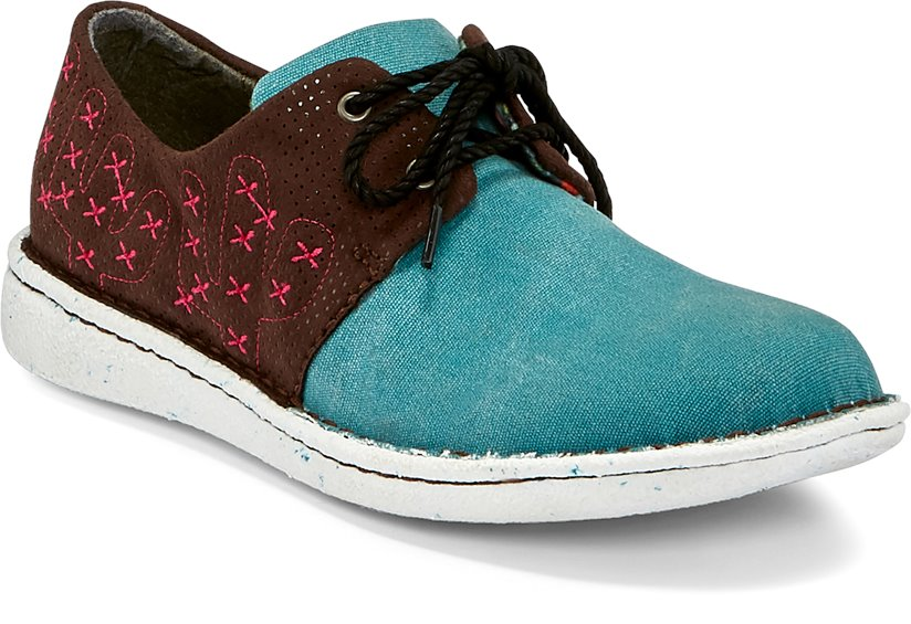 Image for CAC-TIE TURQUOISE shoe; Style# JL141