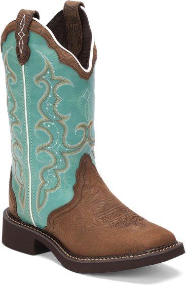 Justin Boots L2904 Raya Turquoise