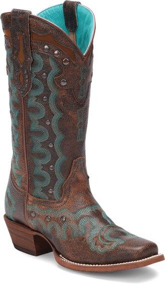 Justin Boots L4360 Faxon Brown