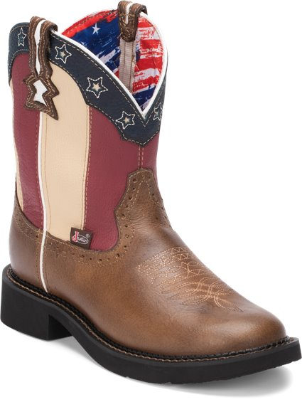 Image for CHELLIE STARS AND STRIPES boot; Style# L9521