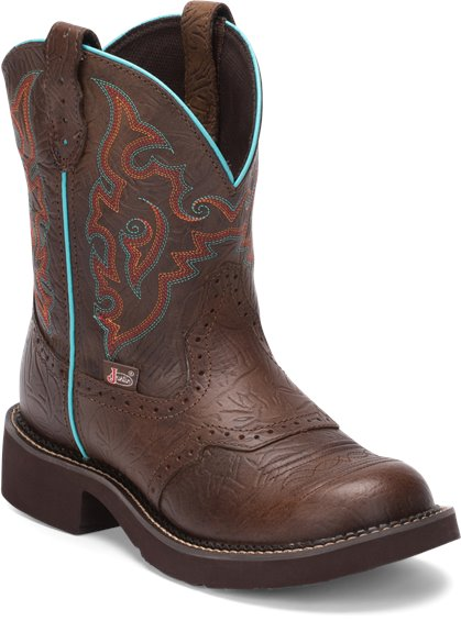 Justin Boots L9607 Gemma Brown Piper