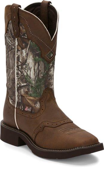 Justin Boots L9609 Raya Camo