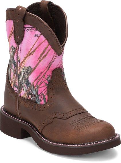 Justin Boots L9610 Gemma Pink Camo