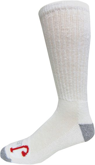 Image for HALF CUSHION OVER THE CALF-WHITE 3-PK ; Style# SOX9503TH