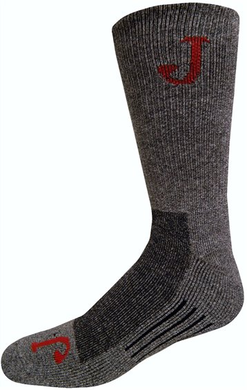 Image for HALF CUSHION WICKING CREW-GREY 1-PR ; Style# SOX9512