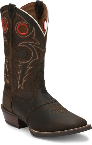 huge discount 2a3f0 0b83f JUSTIN BOOTS #SV2534 SAGEN BROWN