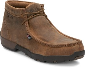 7705454788a2 Image for CAPPIE DARK BROWN STEEL TOE shoe  Style  235