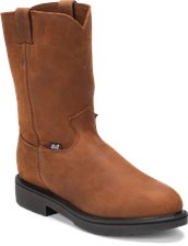 Image for CONDUCTOR PULLON BROWN STEEL TOE boot; Style# 4764