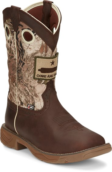 Image for STAMPEDE RUSH GRIZZLY BROWN boot; Style# WK4320