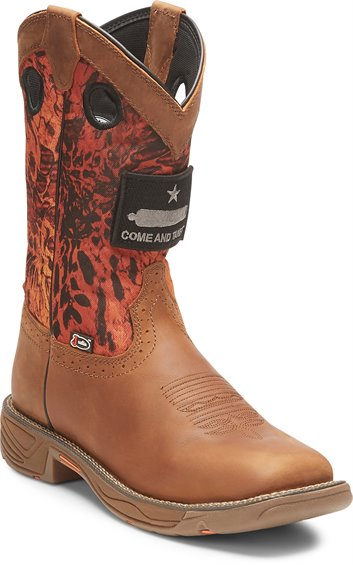 Image for STAMPEDE RUSH RUSTIC TAN boot; Style# WK4322