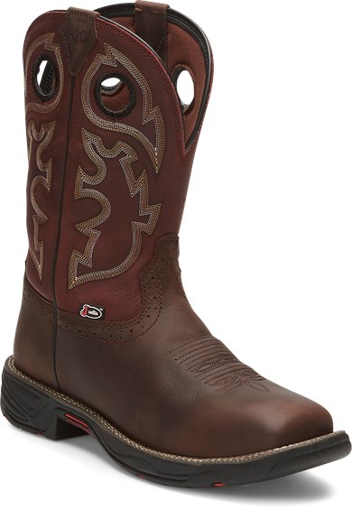 Image for STAMPEDE RUSH GRIZZLY BROWN W/P boot; Style# WK4326