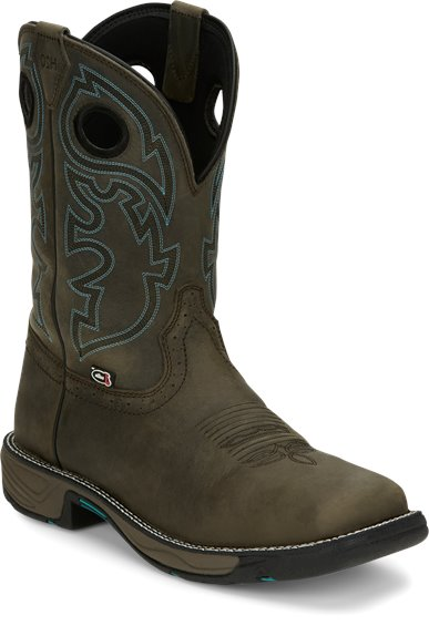 Image for STAMPEDE RUSH MAGNETIC STEEL W/P boot; Style# WK4328